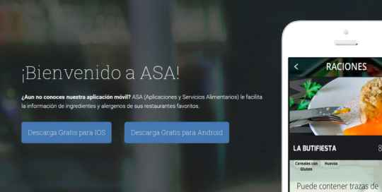 APP ASA Aplicaciones y servicios alimenticios app develop