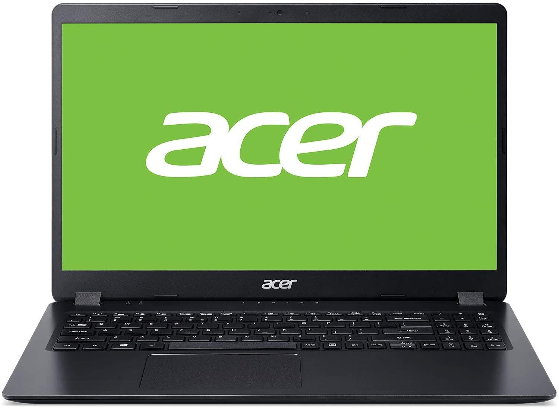"Acer Aspire 3 Ordenador portátil de 15.6"" HD (Intel Core i3-7020U, 4GB de RAM, 128GB SSD, UMA, Sin sistema operativo) Teclado QWERTY Español"